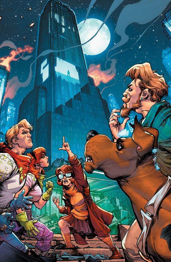 Scooby Apocalypse Equipo Completo