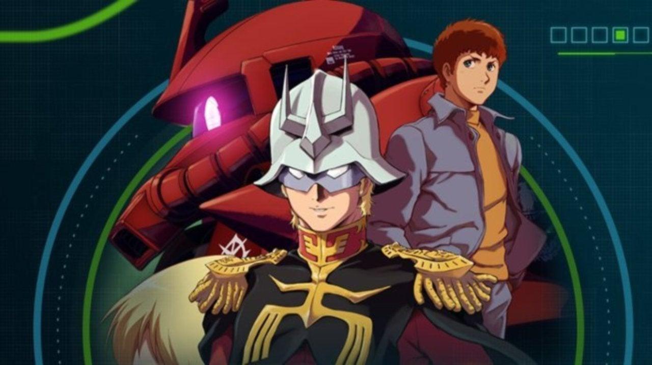 Mobile Suit Gundam The Origin Portada