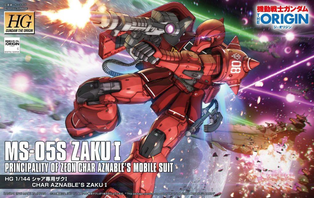 Mobile Suit Gundam The Origin Zaku Modelo