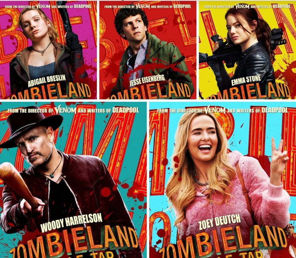 Zombieland 2 Actores