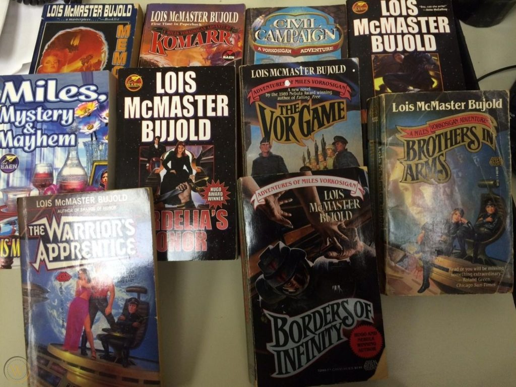 Books by Lois McMaster Bujold