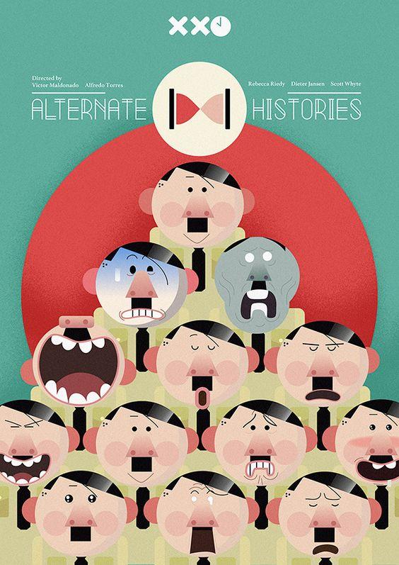 Hitler animación