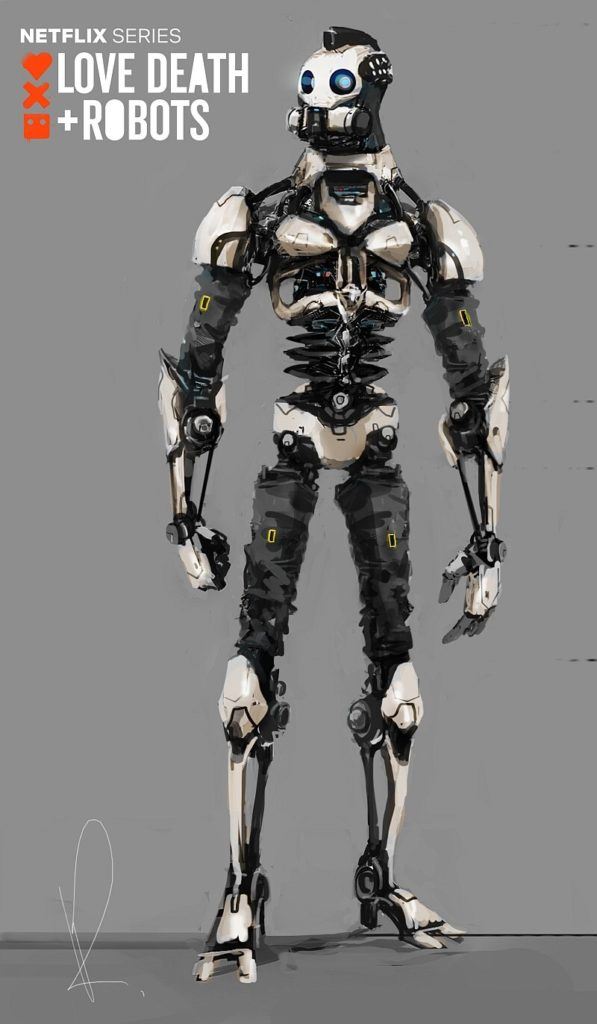 Love Death + Robots por Marcin Rubinkowski