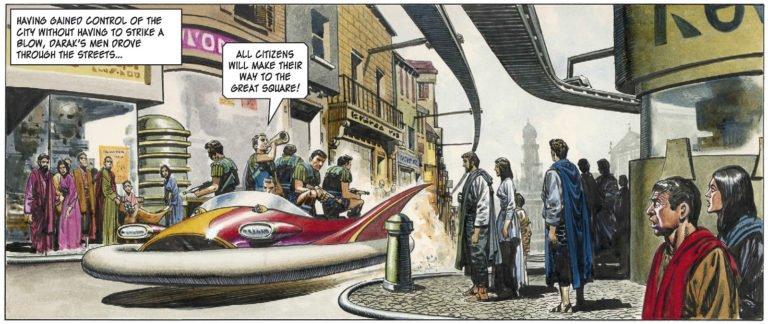 Hovercraft Auge y Caída del Imperio Trigan