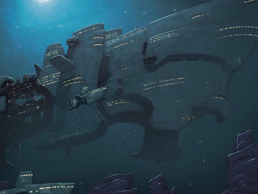 Deep Dark Blue Submarinos