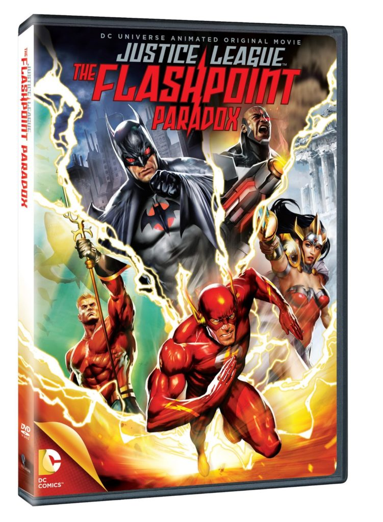 dvd justice league the flashpoint paradox