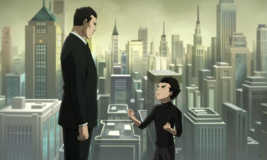 Bruce Wayne y Damian Wayne