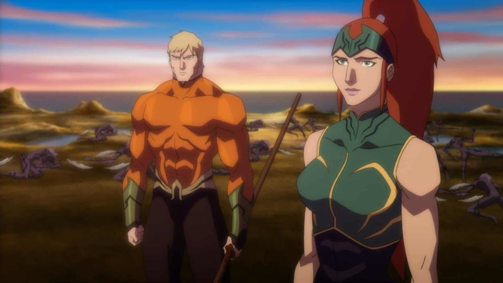 Justice League Throne of Atlantis Pareja