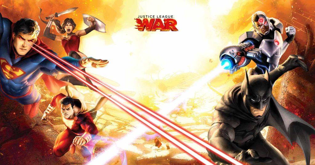 Justice League: WAR Portada