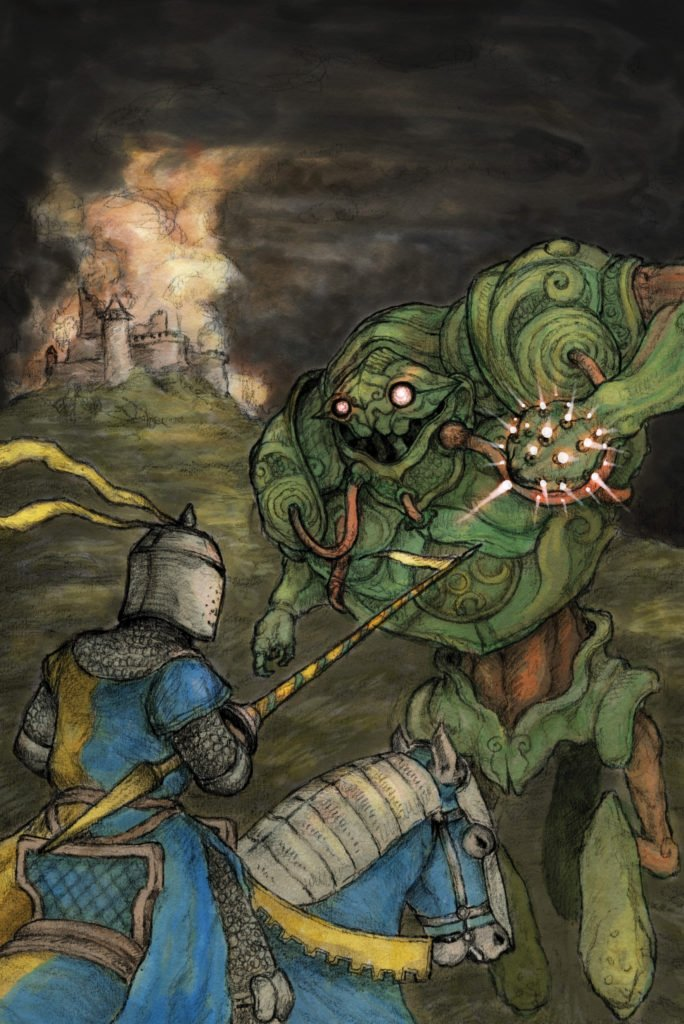 Knights of Invasion Portada