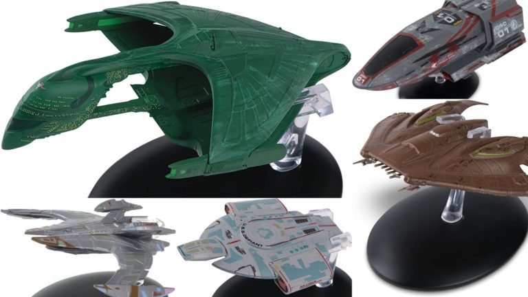 Modelos de Naves de Star Trek