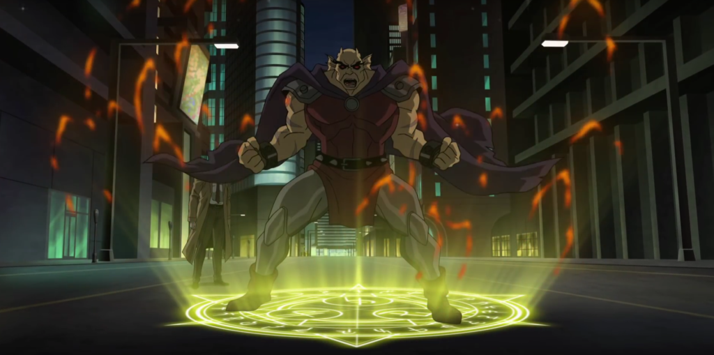 Justice League Dark Etrigan
