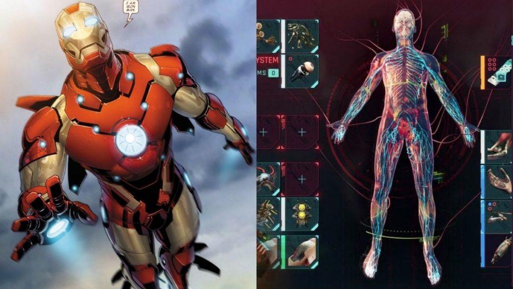 Iron Man vs Cyberpunk 2077