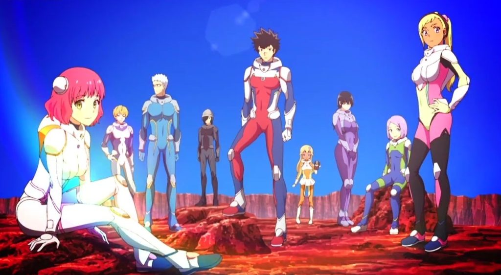 Kanata-no-Astra Personajes
