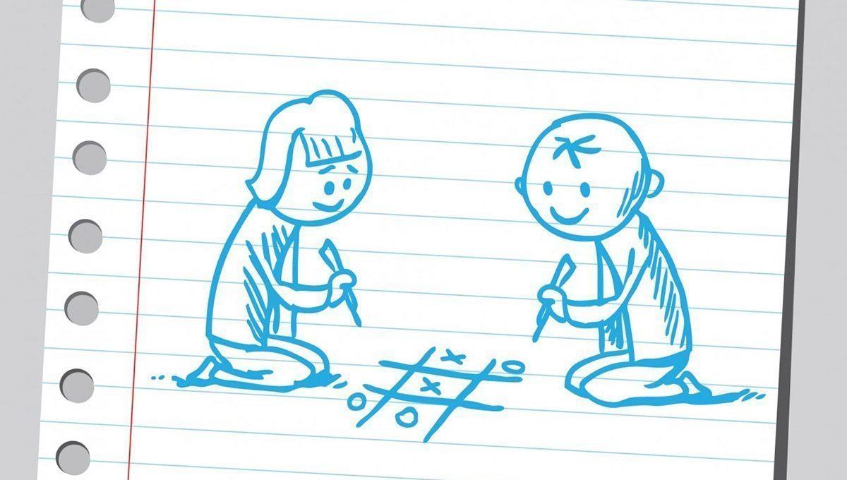 Tic-Tac-Toe ilustración