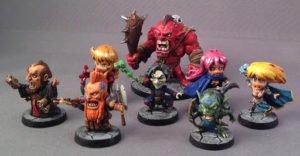 Arcadia Quest Miniaturas Varias