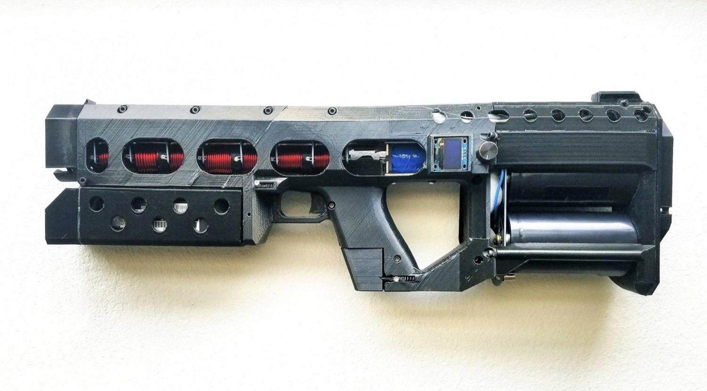 Arma Electromagnética Personal