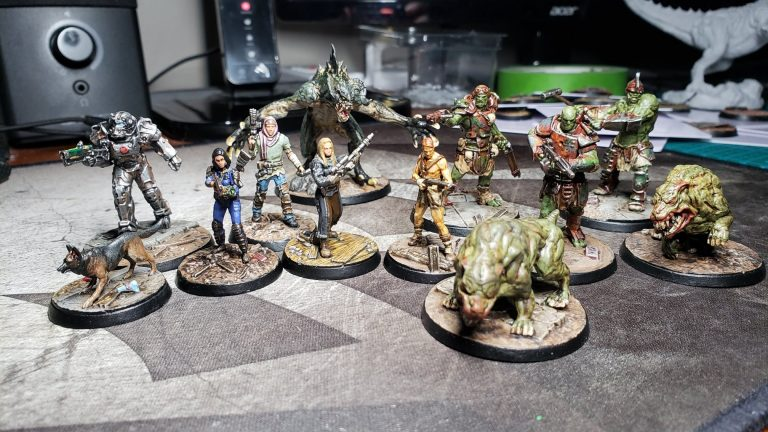 Fallout Wasteland Warfare Starter Set