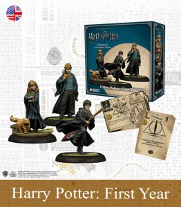 Juego de Miniaturas de harry Potter Primeros Años en Inglés
