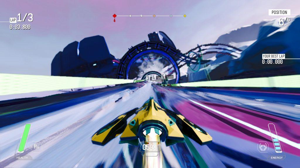 juegos de carreras futuristas