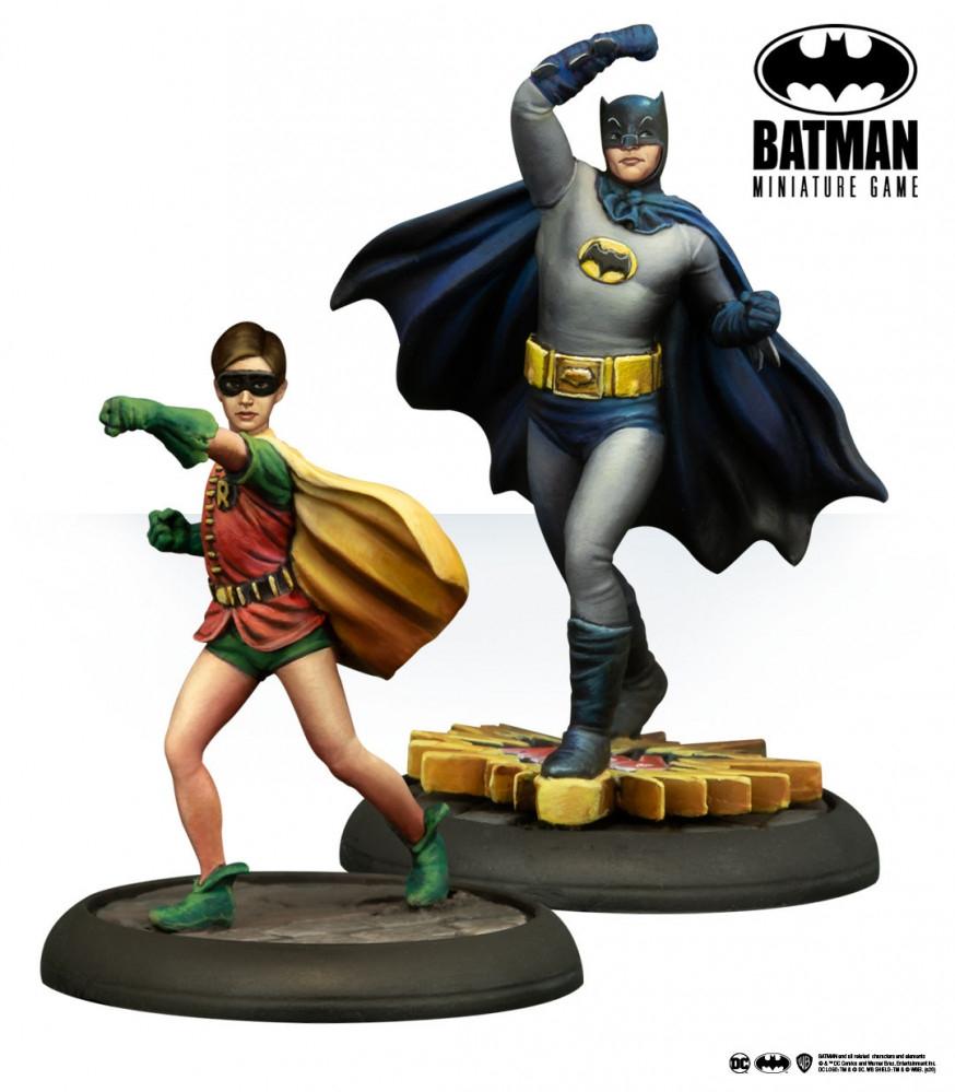 Batman y Robin Serie de los Años 60's