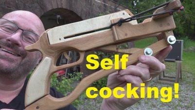 Ballesta Pistola de madera