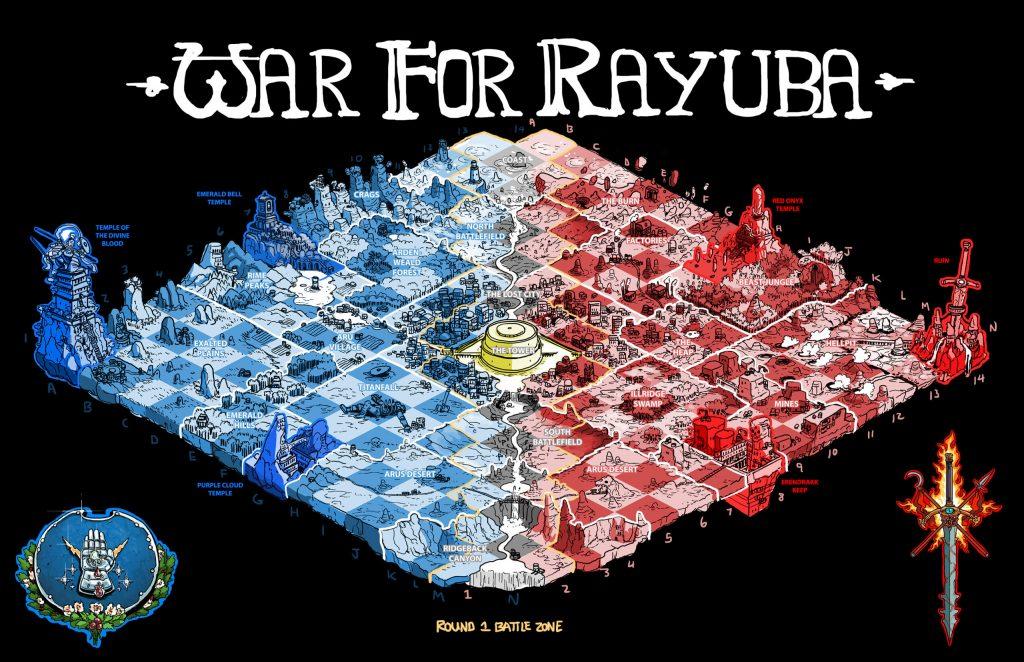 Guerra por Rayuba