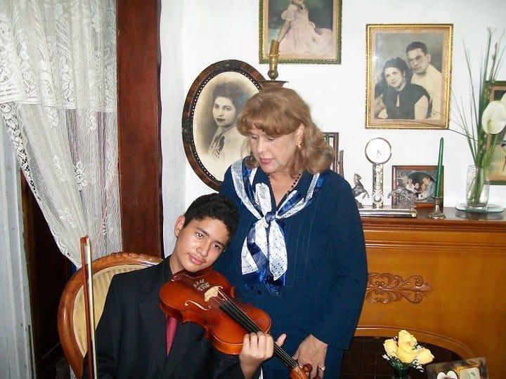 Elsa y Vladimir Antonio
