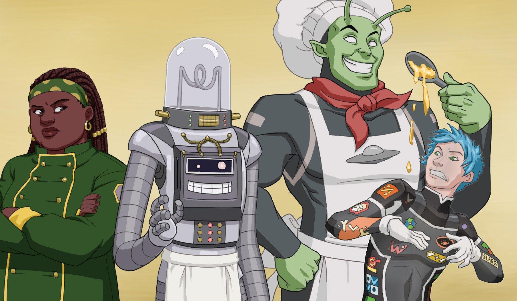 Uranium Chef Personajes