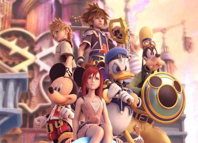 Kingdom Hearts Personajes