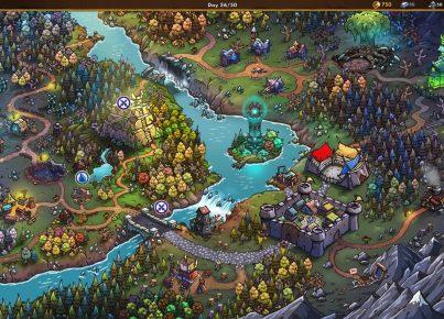 Gladiator Guild Manager Mapa